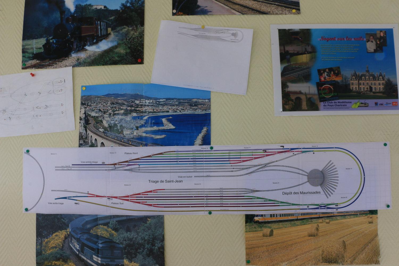 Plan du triage/dépôt